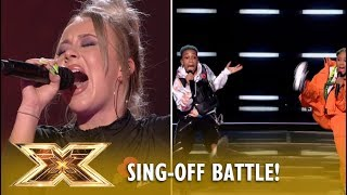 Acacia & Aaliyah vs Molly Scott: A BRUTAL Sing-Off Between The Youngest Stars! | The X Factor 2018