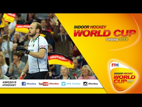 Germany vs Switzerland - Full Match Men's Indoor Hockey World Cup 2015 Germany Quarter-Final