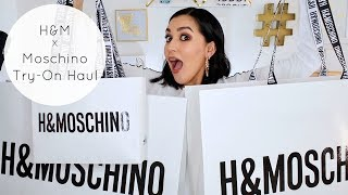 $800+ H&M x Moschino Collection Try-On Haul