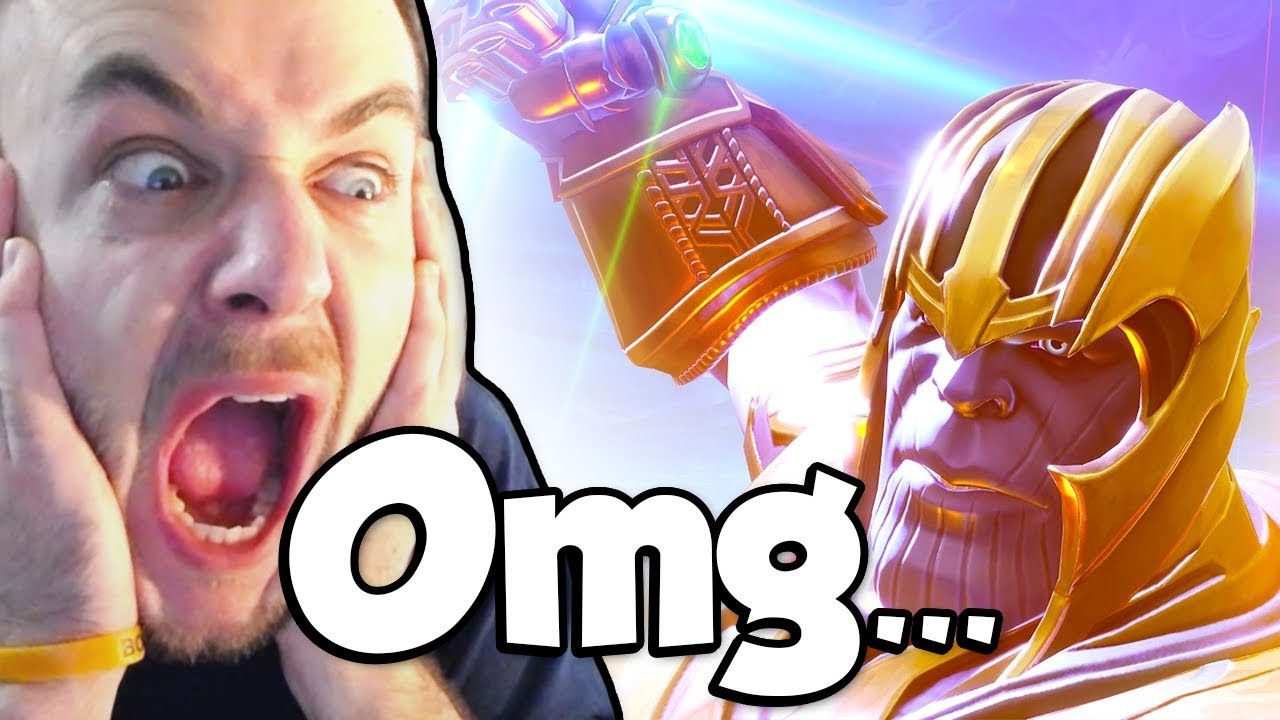 THANOS IN FORTNITE! (Fortnite Infinity Gauntlet Gameplay)