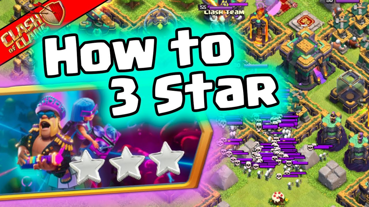 How to Easily  3 Star the 9th Clashiversary Challenge in Clash of Clans!