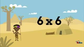 Table de multiplication du 6
