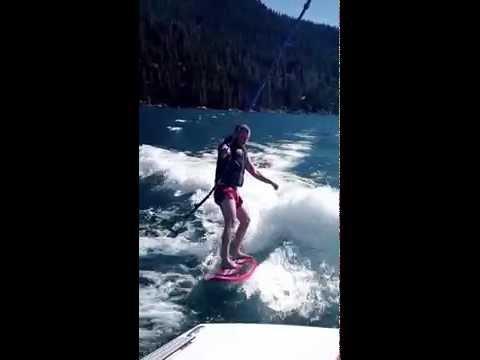 Itamar Wakesurfing