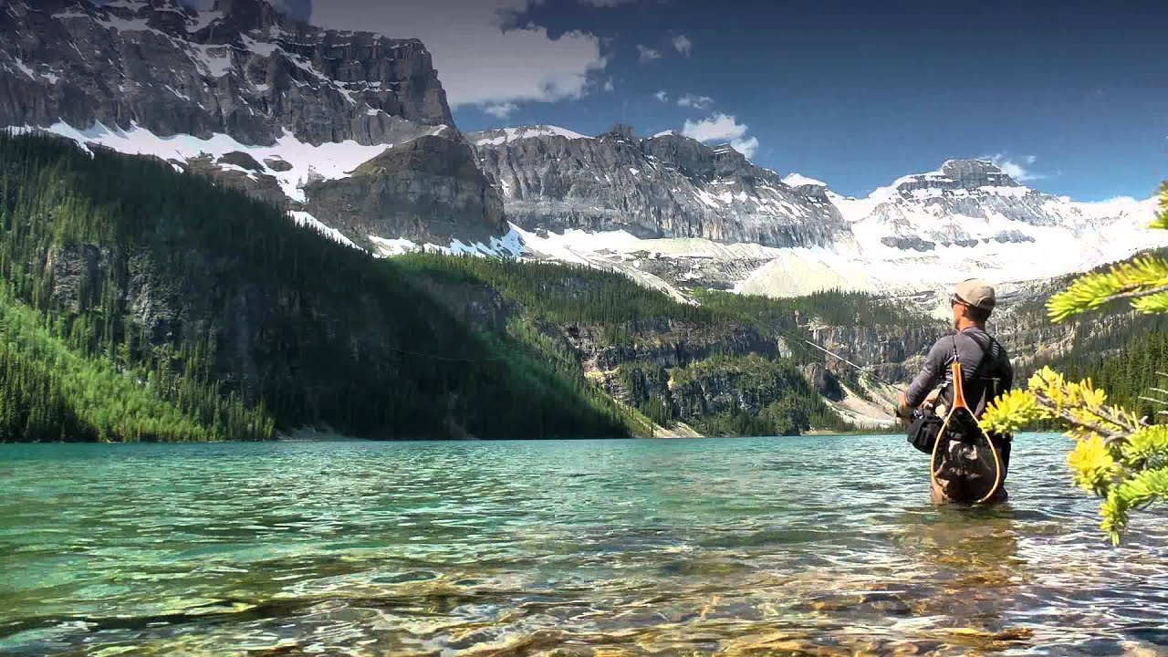 No network coverage fishing in banff national park for Fly in fishing canada