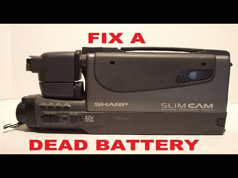 Give your dead camcorder battery life again