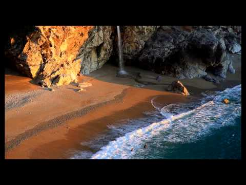 McWay Falls - Big Sur - Sunset and Divers
