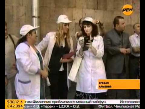 В Ереване съели 4 тонны шоколада