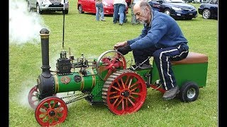 Top 20 AMAZING Steam  Powered Vehicles / Machines With Steam Engine [Videos]