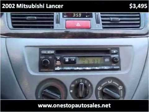 2002 Mitsubishi Lancer available from One Stop Auto Sales