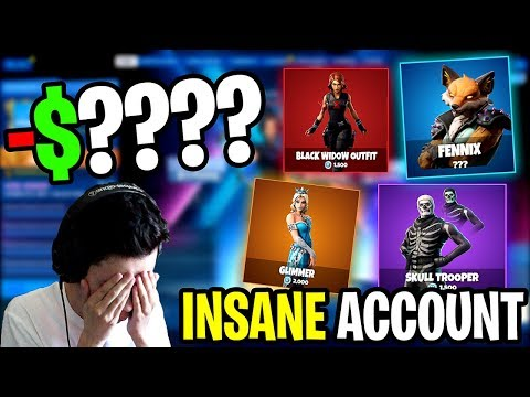Calculating How Much Money I've Spent On Fortnite Skins (embarrassing)