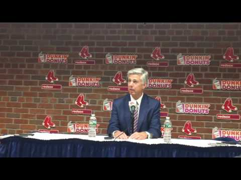 Dave Dombrowski explains why the Boston Red Sox added Doug Fister