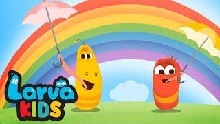 RAIN RAIN GO AWAY  | Nursery Rhymes | LARVA KIDS Songs for Children