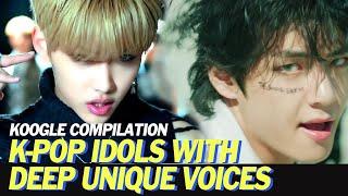 Baixar K-Pop Idols with Unique Deep Voices (Boy) | KOOGLE COMPILATION