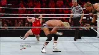 Brodus Clay & Hornswoggle vs. Dolph Ziggler & Jack Swagger: Raw, April 23, 2012