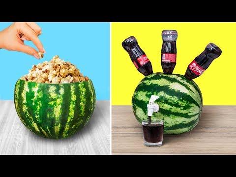 10 Amazing Watermelon Ideas And Pranks / Watermelon Challenge
