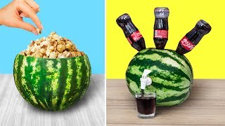 10 Amazing Watermelon Ideas And Pranks / Watermelon Challenge