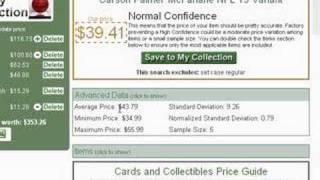 SportsLizard Price Guide Tutorial