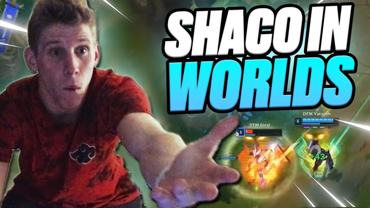 Download SHACO WAS PICKED AT WORLDS?!  RANK 1 SHACO WORLD REACTS