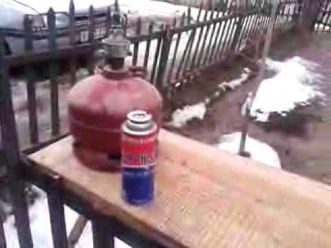 Заправка газового баллончика