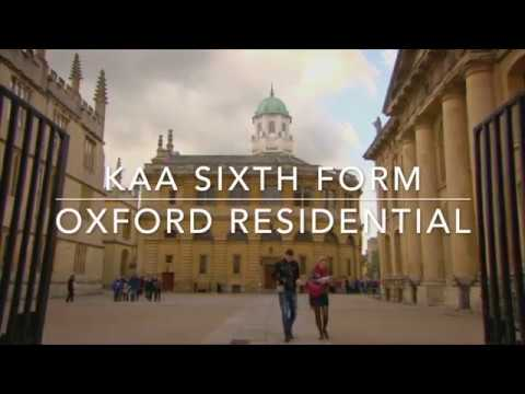 KAA Sixth Form Oxford Residential