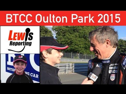 Jason Plato - TeamBMR BTCC Oulton Park 2015