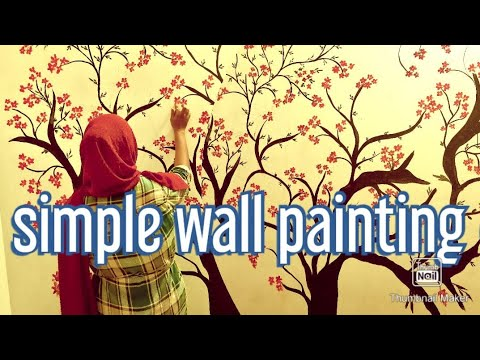 Wall Painting Wall Art Tree Design Ideas Painting With Oil Paints