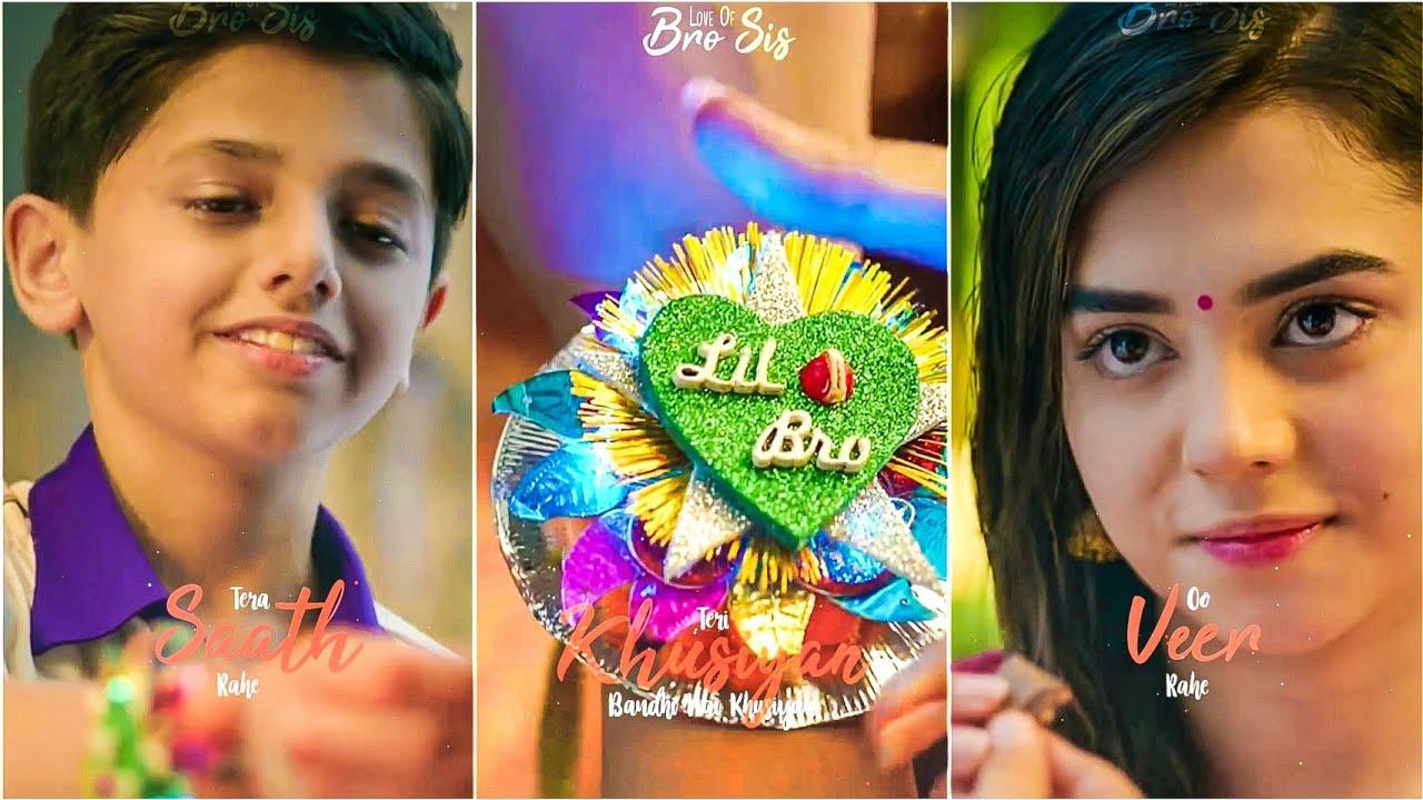 Brother Sister Love   Happy Rakshabandhan Full Screen Whatsapp Status   Ankit Solanki AS