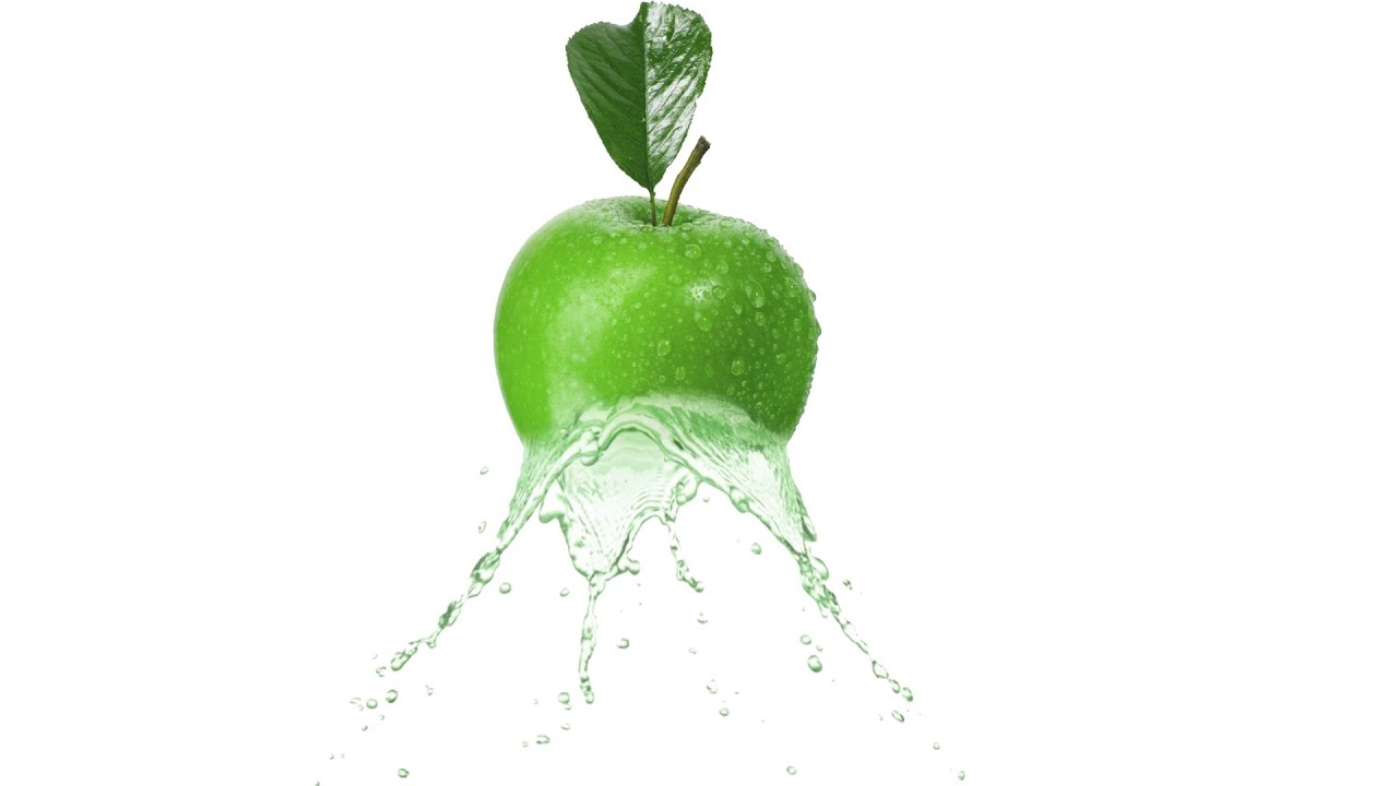 how to make apple water