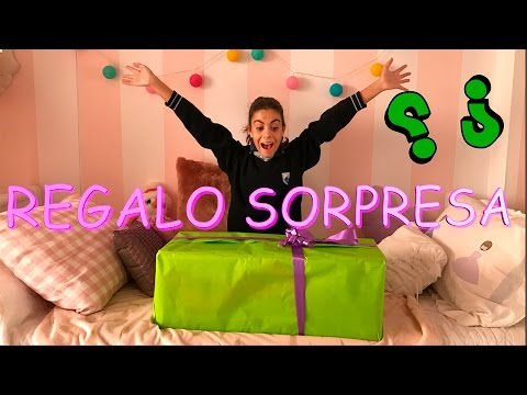 REGALO SORPRESA ¿QUIEN ME LO ENVIA? - LA DIVERSION DE MARTINA
