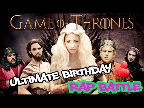 """Game Of Thrones"" Ultimate Birthday Rap Battle (featuring Taryn Southern) ORIGINAL"