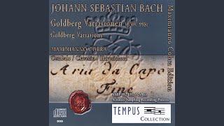 Goldberg Variations, Bwv 998: Variatio 18 Canone Alla Sexta A 1 Clav.
