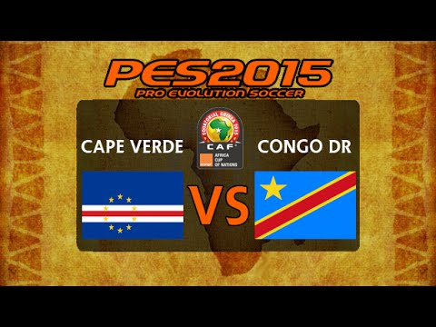 PES 2015   Cape Verde - Congo DR   2015 Africa Cup Of Nations Group A Matchday 2