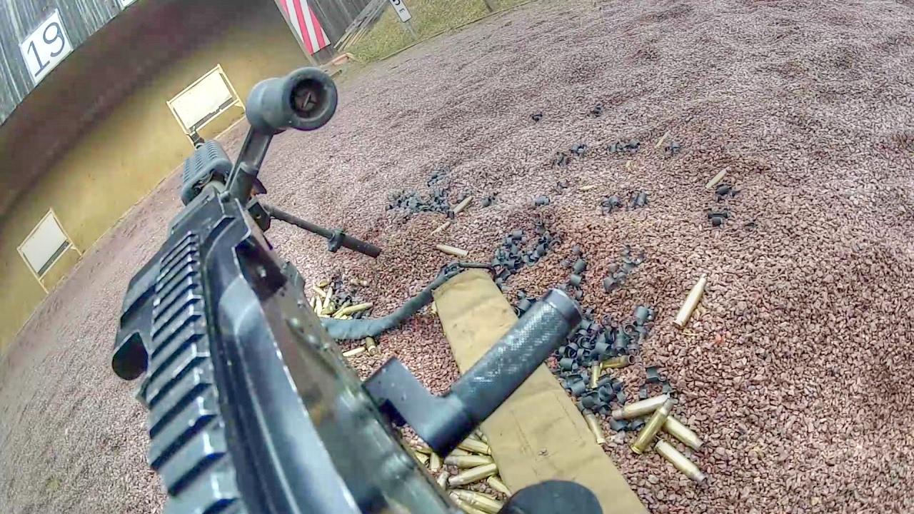 machine gun shooting range