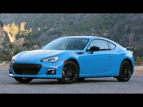 2016 Subaru Brz Series Hyperblue Quick Spin