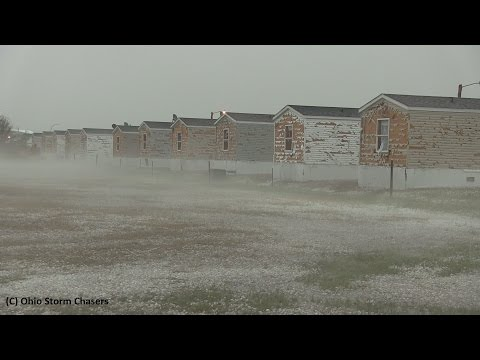 Severe Hail Damage-Killdeer, North Dakota July 10th, 2016
