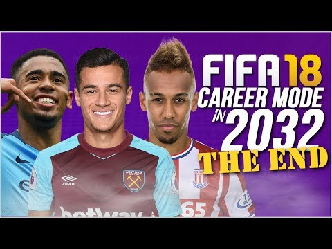 THE END OF FIFA 18 CAREER MODE (2032) | SO MANY SUPERSTARS!