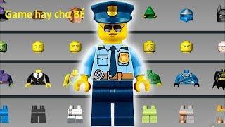 Đồ Chơi LEGO | Sáng Tạo Lắp Ghép Đồ Chơi lego: Người Nhện, Cảnh Sát, Lính Cứu Hỏa,..