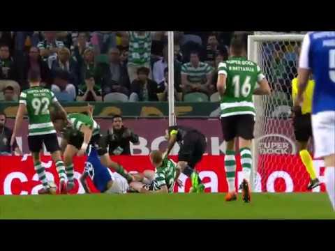Há motivo para grande penalidade de Mathieu? (Sporting - Porto)