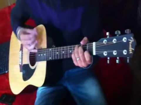 Teri Yaadein on Acoustic Guitar