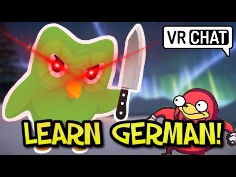 [VRChat] DUOLINGO CAN TELL YOU DIDNT STUDY YOUR GERMAN