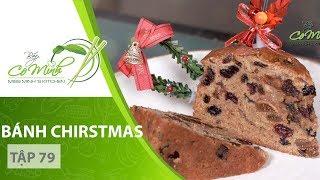Bếp Cô Minh   Tập 79 - Hướng dẫn cách làm BÁNH CHRISTMAS tại nhà