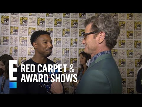 "Michael B. Jordan Talks Becoming ""Black Panther"" 
