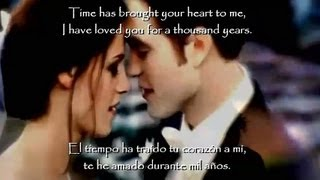 A Thousand Years (Part 2) - Christina Perri ft. Steve Kazee [Con Letra y Subtitulada]