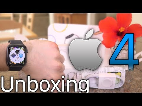 Apple Watch Series 4: Unboxing and Setup Review! ( Watch 4)