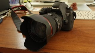 Canon EOS 6D WITH 24-105mm IS L Kit Lens: Unboxing and First Impressions
