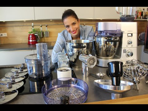 Kuchenmaschine Kenwood Cooking Chef Vorstellung Youtube