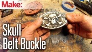 DiResta: Skull Belt Buckle