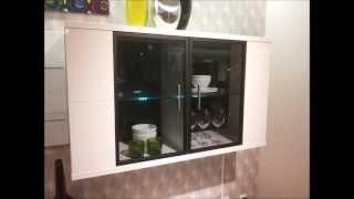 Led Vitrine Cabinet Wall Mounted Led Shelf Display Cabinets
