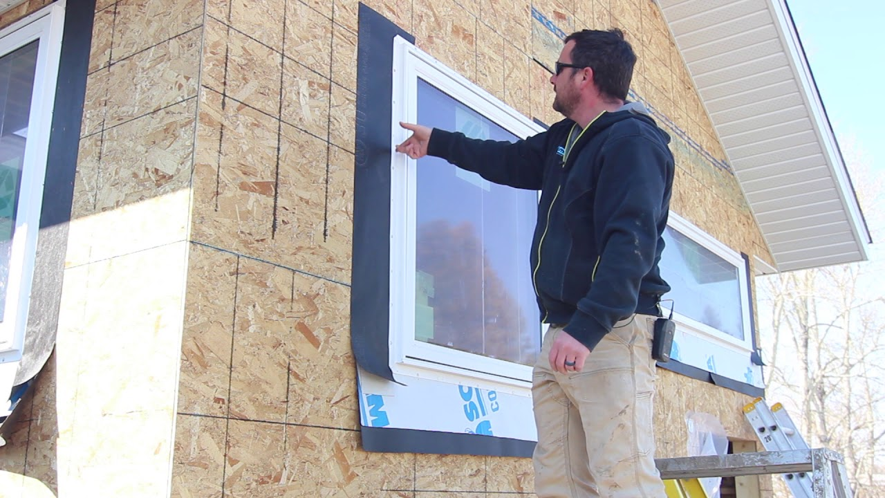 How to Install a Window - Proper Building Paper and Flashing Installation