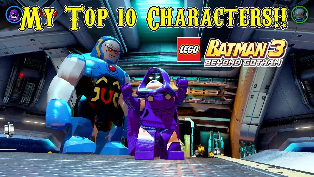 My Top 10 Favorite Characters in LEGO Batman 3: Beyond ...